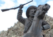 Monument to Pancho Villa, Zacatecas, Mexico.