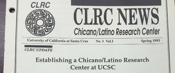 Front page of the CLRC's 1993 newsletter.