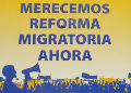 Merecemos Reforma Migratoria.  Photo by Shannon Gleeson.